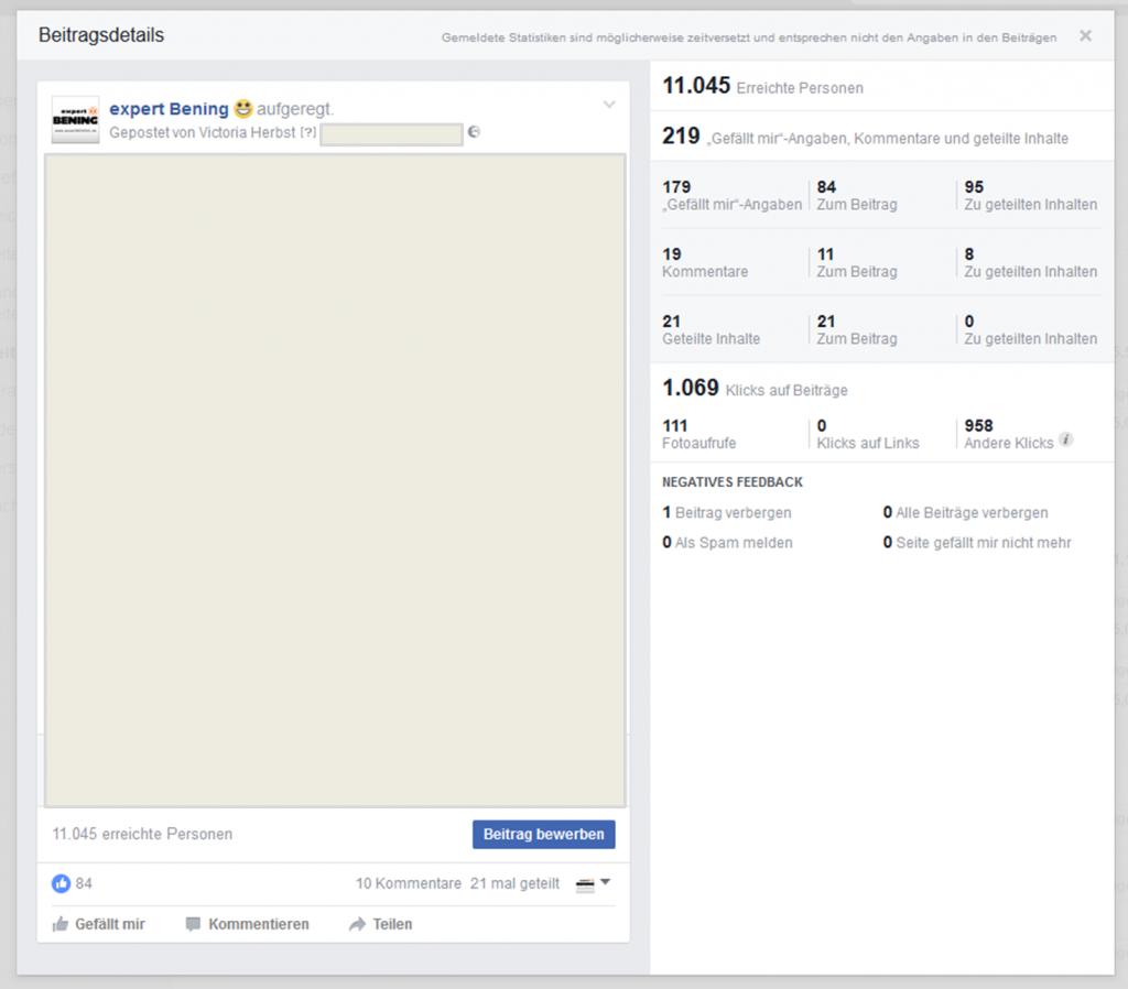 facebook statistiken feedback übersicht